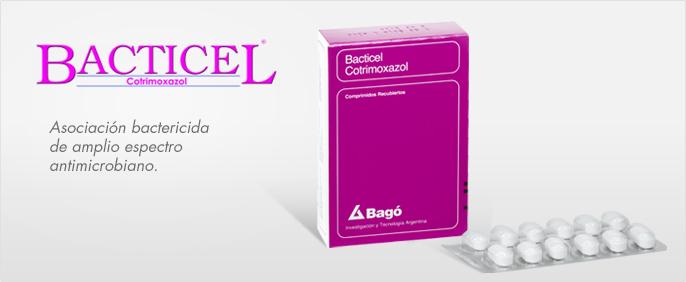 Laboratorios Bagó Bacticel comprimidos