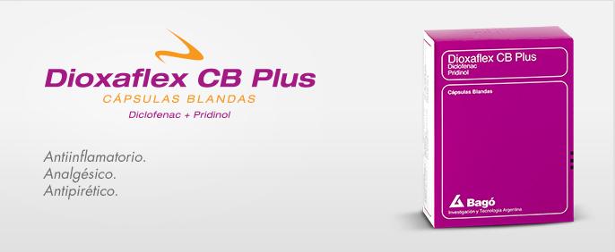 Laboratorios Bagó Dioxaflex CB Plus