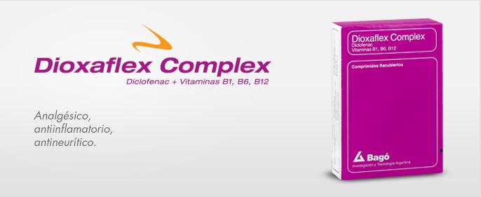 Laboratorios Bagó Dioxaflex Complex comprimidos