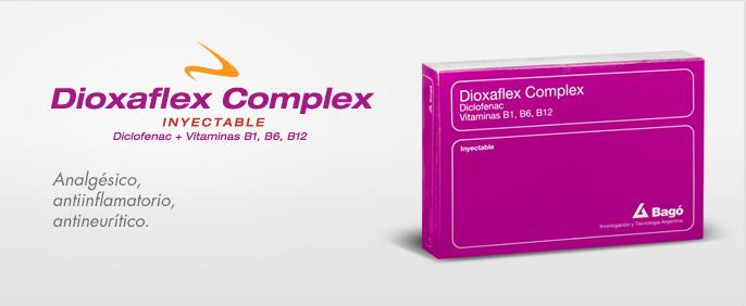 Laboratorios Bagó Dioxaflex Complex Inyectable