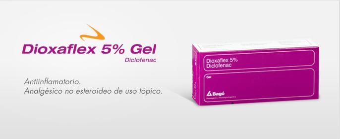 Laboratorios Bagó Dioxaflex 5% Gel
