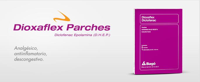Laboratorios Bagó Dioxaflex Parches