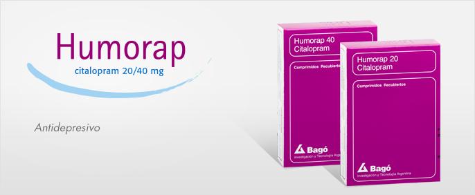 Laboratorios Bagó Humorap 20 / 40