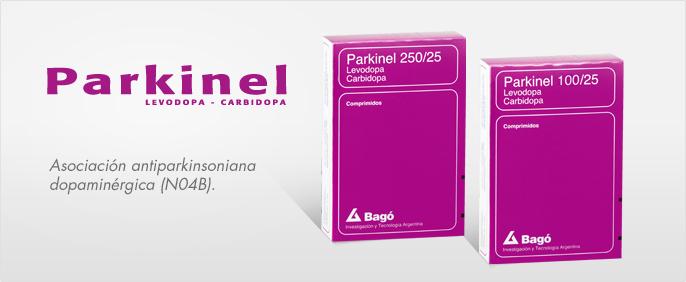Laboratorios Bagó Parkinel 100/25 – 250/25