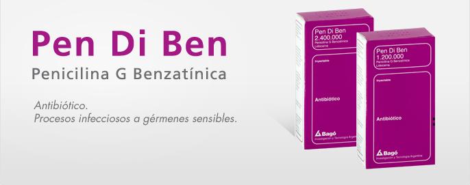 Laboratorios Bagó Pen Di Ben 1.200.000 / 2.400.000