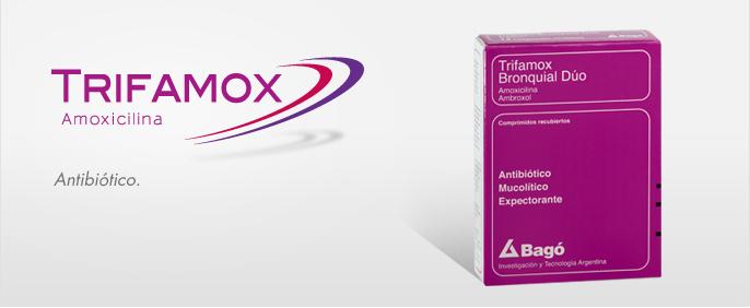 Laboratorios Bagó Trifamox Bronquial Duo comprimidos