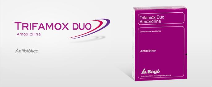 Laboratorios Bagó Trifamox Duo comprimidos