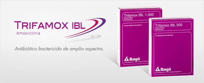 Laboratorios Bagó Trifamox IBL 500 / 1000 comprimidos