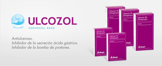 Laboratorios Bagó Ulcozol 10 / 20 / 30 / 40 cápsulas