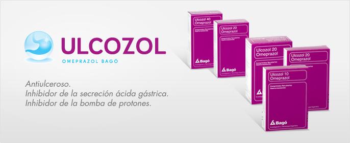 Laboratorios Bagó Ulcozol 10 / 20 / 40 comprimidos