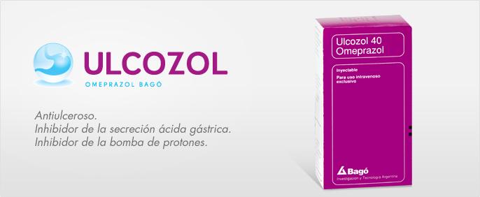 Laboratorios Bagó Ulcozol 40 inyectable