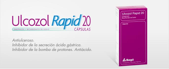 Laboratorios Bagó Ulcozol Rapid 20