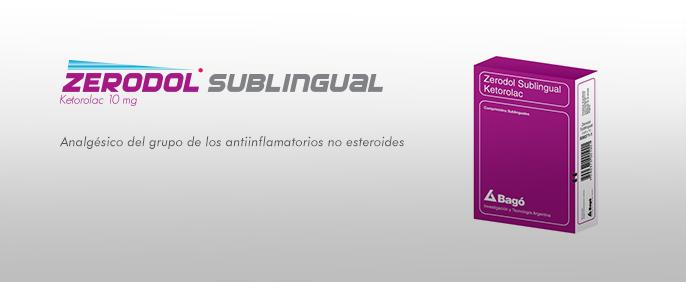 Laboratorios Bagó Zerodol 10 Sublingual