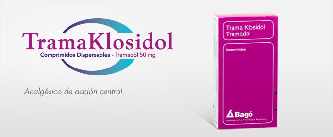 Laboratorios Bagó Trama Klosidol comprimidos
