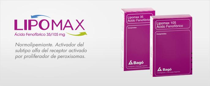 Laboratorios Bagó Lipomax 35/105