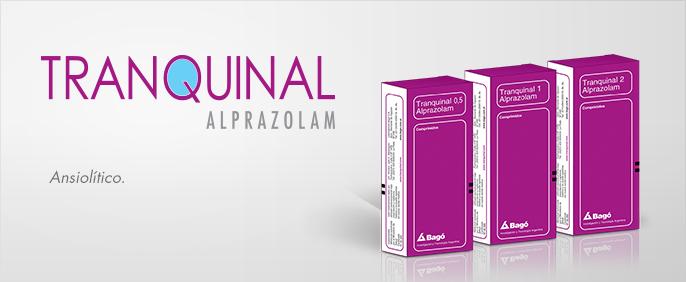 Laboratorios Bagó Tranquinal 0,25 / 0,5 / 1 / 2 comprimidos