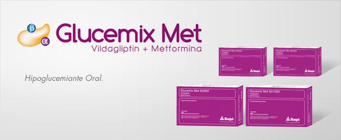 Laboratorios Bagó Glucemix Met 50/500 – 50/850 – 50/1000
