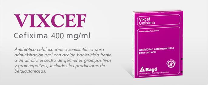 Laboratorios Bagó Vixcef comprimidos