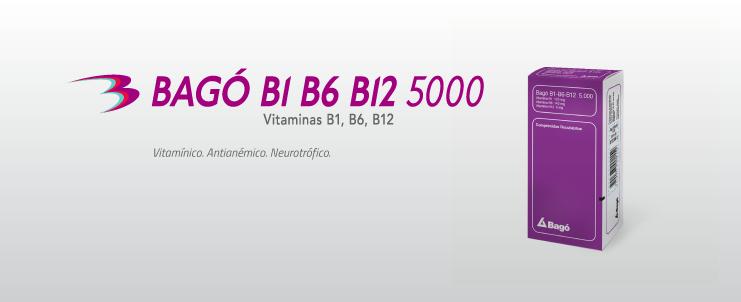 Laboratorios Bagó Bagó B1 B6 B12  5.000 comprimidos