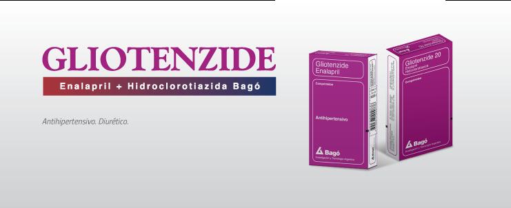 Laboratorios Bagó Gliotenzide 10 / 20