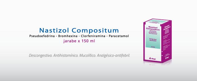 Laboratorios Bagó Nastizol Compositum jarabe