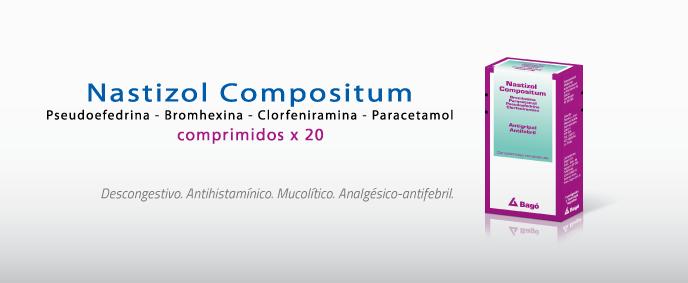 Laboratorios Bagó Nastizol Compositum comprimidos