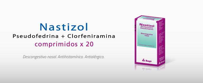 Laboratorios Bagó Nastizol comprimidos