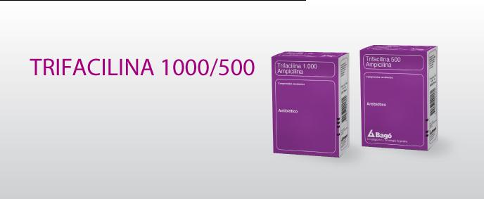 Laboratorios Bagó Trifacilina 500 / 1000 comprimidos