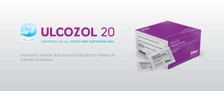 Laboratorios Bagó Ulcozol 20 sobres
