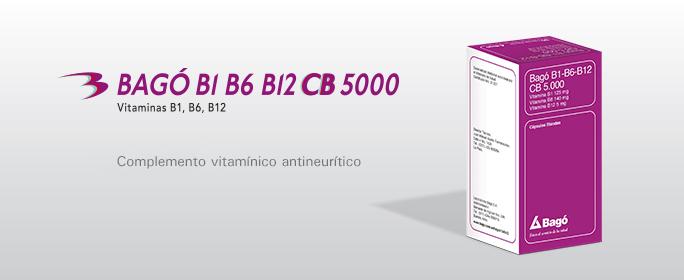 Laboratorios Bagó Bagó B1 B6 B12 CB 5000