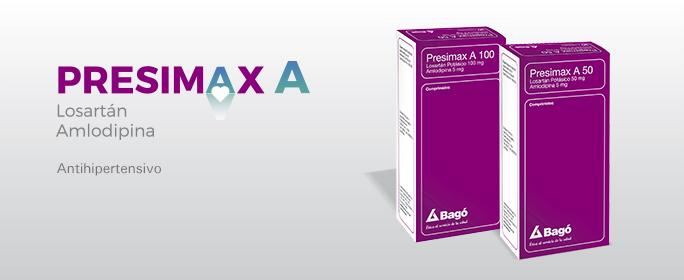 Laboratorios Bagó Presimax A 50/100